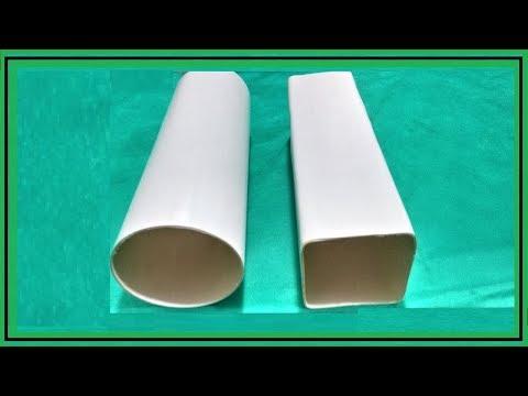 Como Deixar Tubo de PVC Quadrado