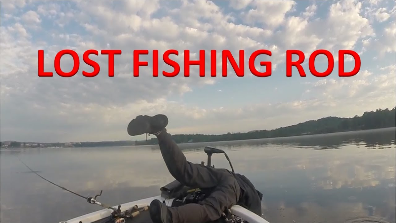 Funny Video: Fisherman Loses 2 Rods In The Water At The Same Time