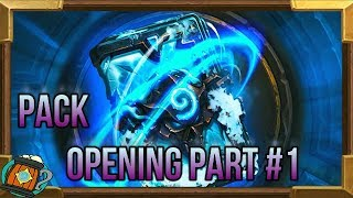 Hearthstone Pack Opening #1 Knight of The Frozen Throne