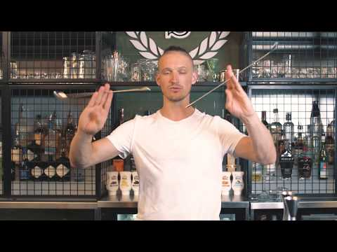 Learn Smooth Tricks With Bar Spoons by the Best Bartender from Russia