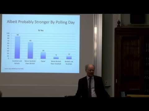 John Curtice - ` The Referendum Decision -  Head or Heart?'