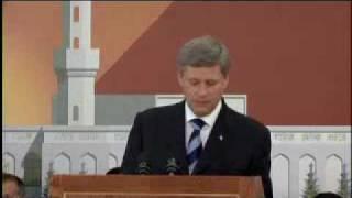 discours du premier ministre Canadien sur la communauté Islam Ahmadiyya.flv