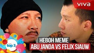 Download Video VIVA Top3: Abu Janda VS Felix Siauw, Polemik Yerusalem & Tak Tun Tuang MP3 3GP MP4