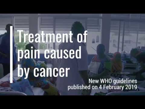 Pain relief improves the quality of life of patients with cancer