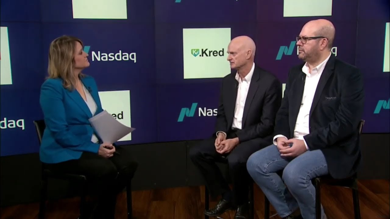 Jodee Rich, CEO of .KRED and James Haft, CEO of PALcapital