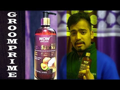 WOW Skin Science Conditioner Review | how to use, apply hair conditioner [GroomPrime]