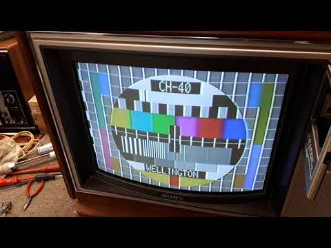 Sony KV-2032ME 1980's TV Set
