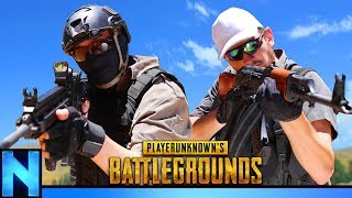 PUBG AIRSOFT - Real Life BATTLEGROUNDS DUOs