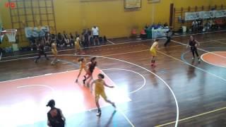 Friuli vs Veneto 65 - 64 semifinale trofeo bulgheroni U13 femminile 16 giugno 2017