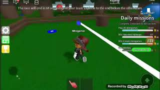 Playing roblox epicminigame