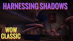 WoW Classic/Harnessing Shadows Warlock quest in Dire Maul North
