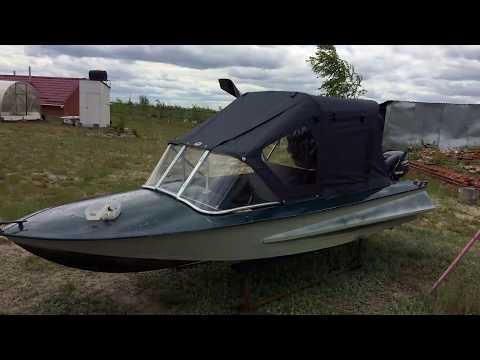 Небольшое видео о доработке лодки Обь 1 ЗИЧ