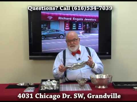 Richard Engels Jewelers Silver Dealers (Grand Rapids, MI) Buy Scrap Silver, Old Silver, Junk Silver