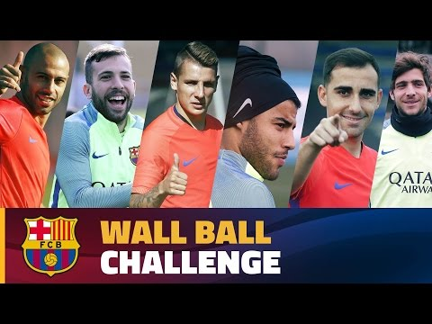 FC Barcelona – Wall Ball Challenge