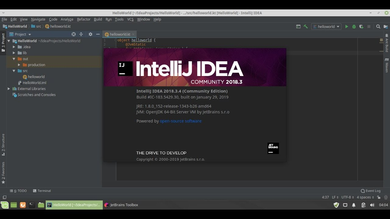 Android-er: Install JetBrains Toolbox App on Linux, and also