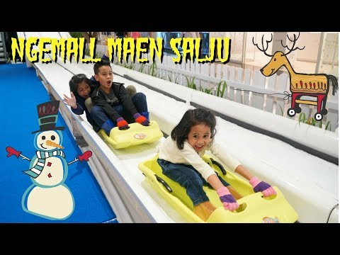 Main Salju di Mall Pondok Indah  TheRempongs VLoG
