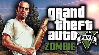 GTA 5 Mod Zombie Survival Indonesia - TREVOR BANTAI ZOMBIE - Part 1