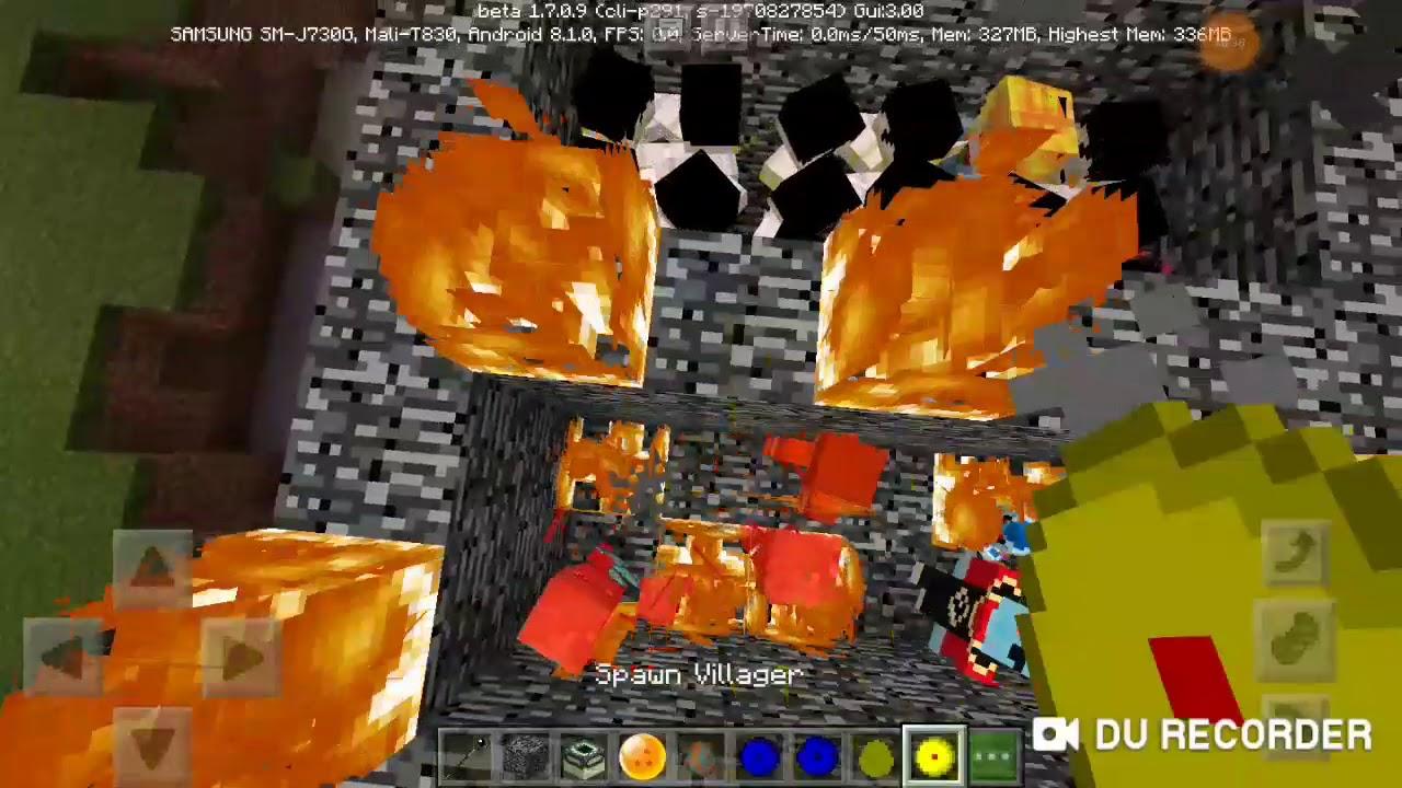 MINECRAFT /mod dragon boy và cách tải mod 7 viên ngọc rồng