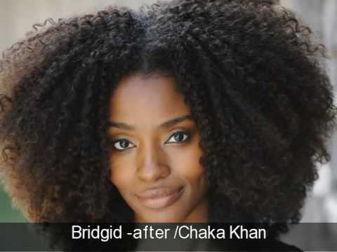 Natural Hair Transformations By Khamit Kinks Before