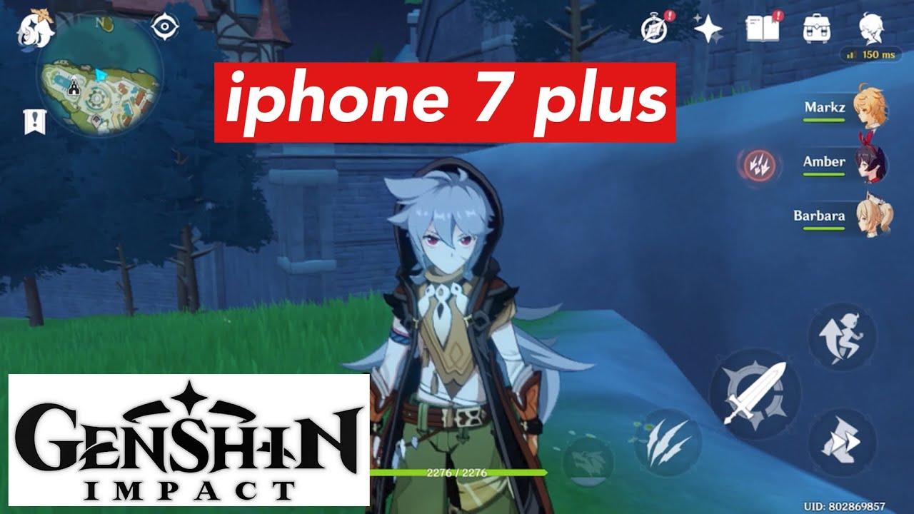 Iphone 7 Plus Genshin Impact