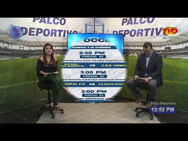 Palco Deportivo 3 DE DICIEMBRE DE 2020