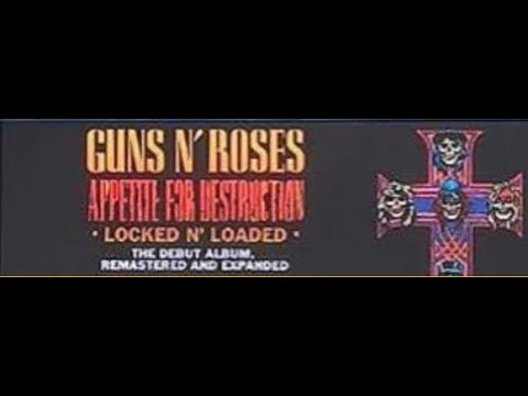 no Guns N' Roses reunion tour, teasers for Appetite For Destruction 'Locked N' Loaded' edition