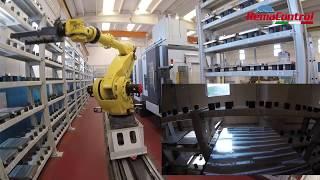 Centros de mecanizado de 5 ejes automatizados REMA CONTROL