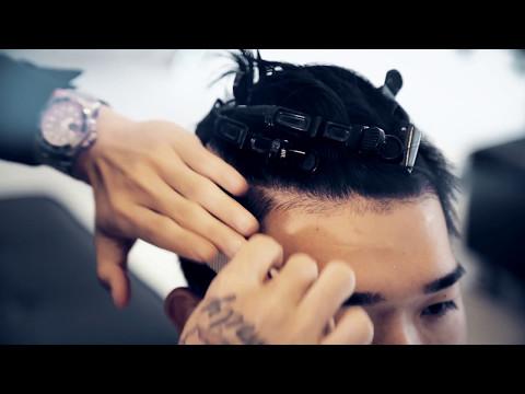 undercut油頭捲髮 /台北公館剪髮.燙髮/男生髮型/髮型師海諾