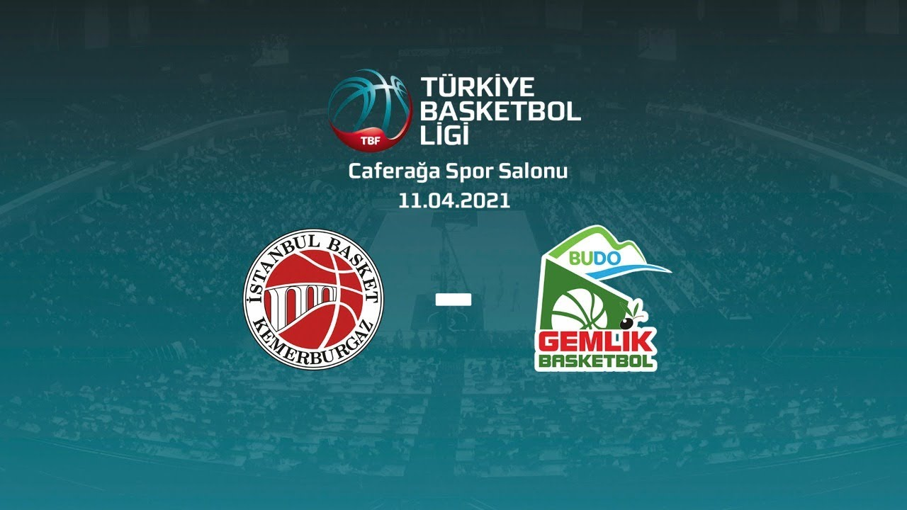 Nadir Gold İstanbul Basket – Budo Gemlik TBL 26.Hafta