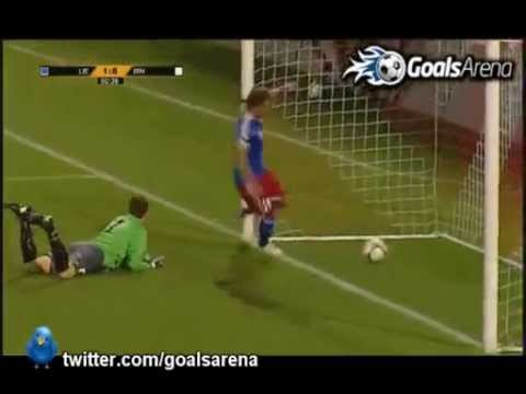 Liechtenstein 1-8 Bosnia-Herzegovina (Group G) Highlights & Goals World Cup 2014 7/9/12