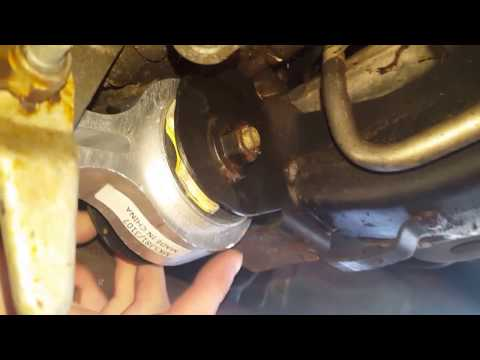 How to install the transmission torque strut mount on a lincoln mkz zephyr fusion ford lincoln