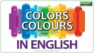 Colors in English - Colours in English