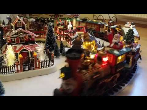 The whole New Bright Holiday Express Collection with Carousel