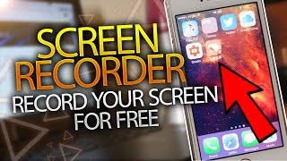 new screen recorder record your iphone screen free ios 10 10 3 no computer no jailbreak