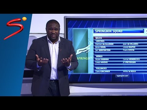 TnT - Springbok Rugby World Cup Squad Prediction