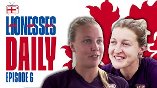 Ellen White, Nikita Parris, and Beth Mead on Scotland World Cup Win! | Lionesses Daily Ep.6