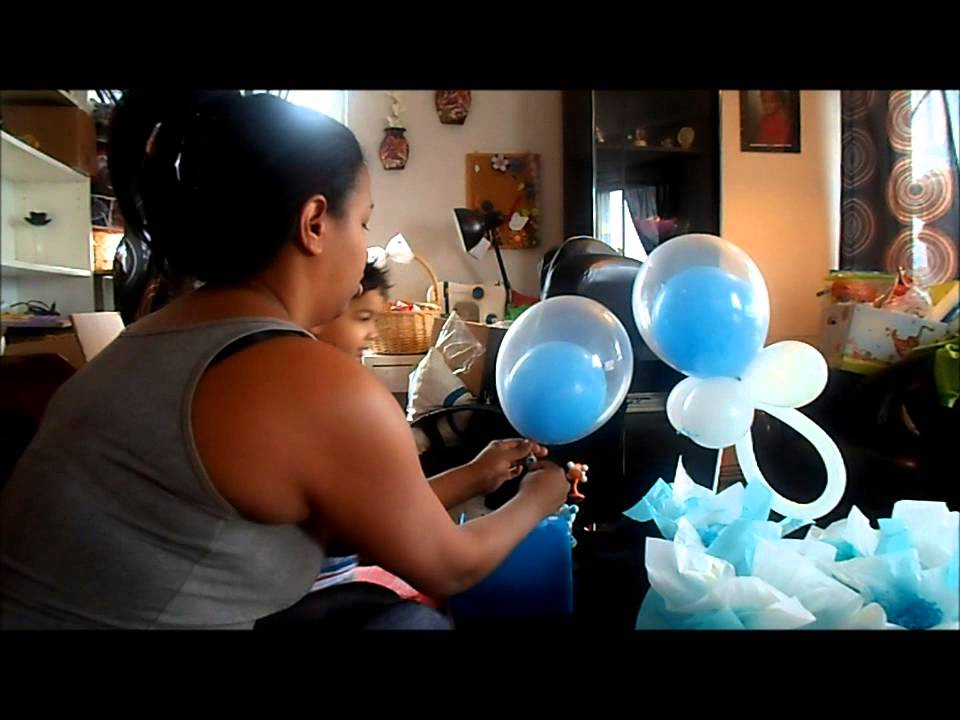 Centro de mesa para baby shower 2 youtube - Centros de mesa para baby shower ...