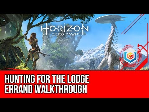 Horizon Zero Dawn Walkthrough - Hunting for the Lodge Errand Gameplay/Let's Play