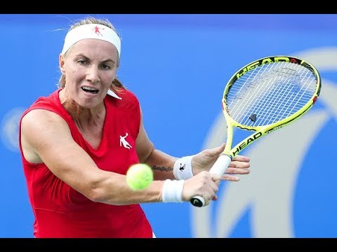 Svetlana Kuznetsova Practice - Beijing 2017