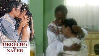 El derecho de nacer - C-44: ¡Rosa confiesa que Isabel Cristina es su hija! | Televisa