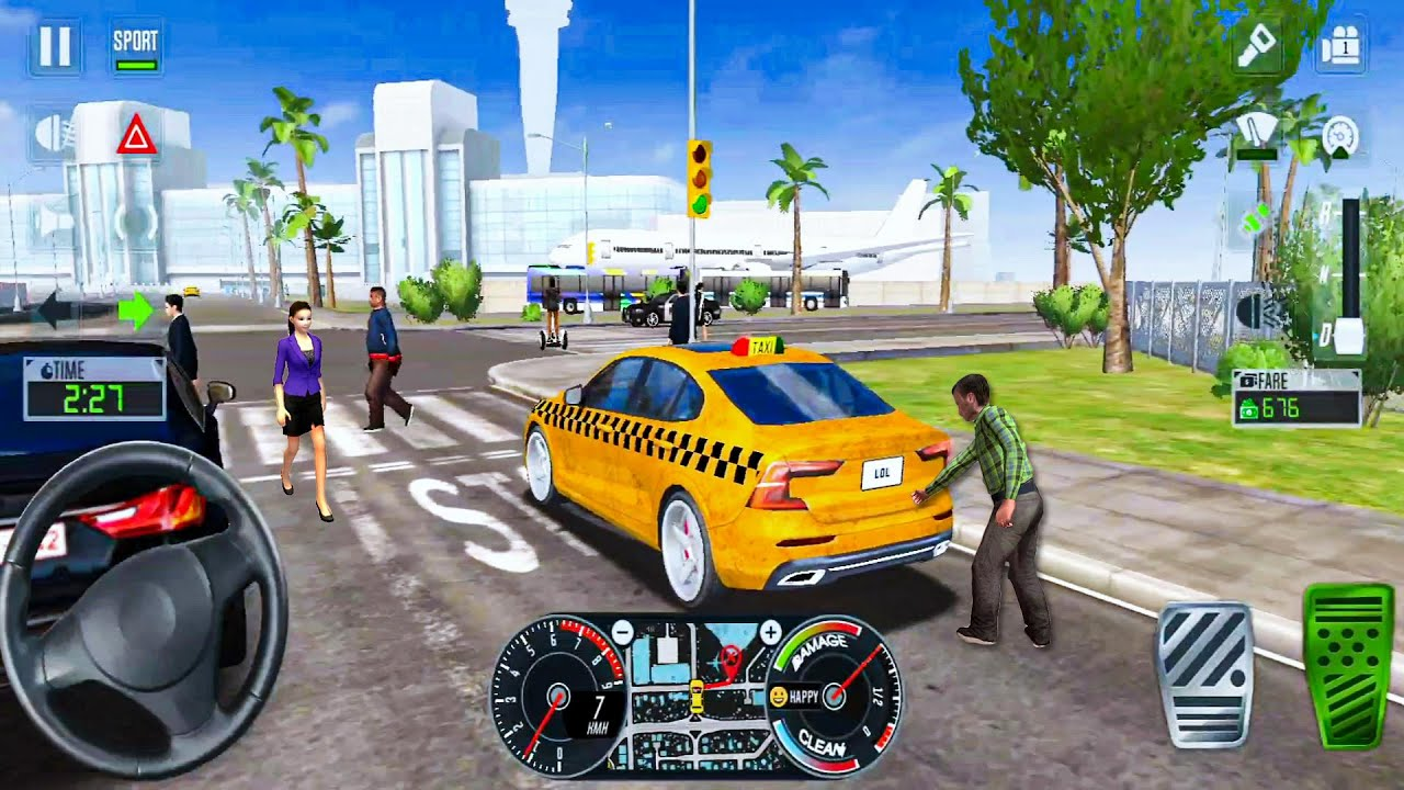 Taxi Sim 2020 Ep7 - Best Taxi Games! Android gameplay