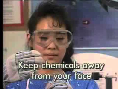 Classic Science Lab Safety Video