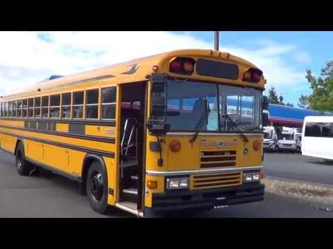 Northwest Bus Sales Used 1991 Blue Bird All American 14 Row 83 Passenger School Bus - B43667