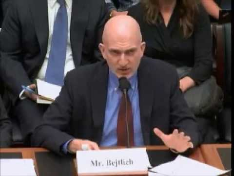 Bejtlich Testifies to House Financial Services Committee