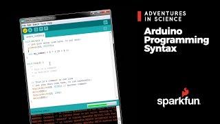 Arduino Programming Syntax