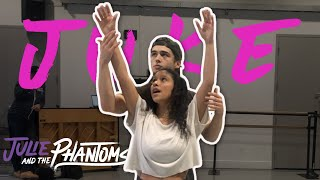"Julie and the Phantoms BTS | ""Perfect Harmony 1st Rehearsal w #Juke"
