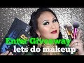Green and Gold Makeup Tutorial|Enter Giveaway In The Description Box