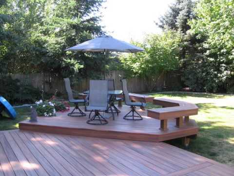 how to build a composite deck video