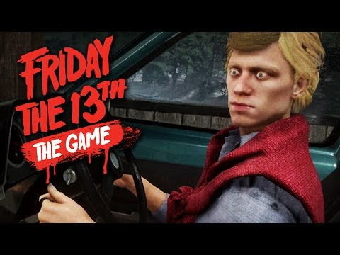 ESCAPING IN THE CAR - Friday the 13th The Game Beta - Counselor Gameplay