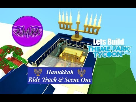 Lets Build TPT2: Happy Holidays - Hanukkah - Ride Track & Scene One